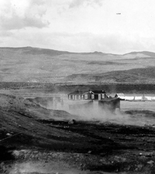 Coso Hot Springs in Coso volcanic field, Feb 4, 1920.